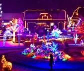 Illuminazione natalizie esterne